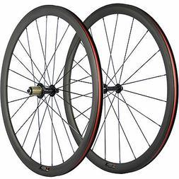 38mm bike wheelset carbon clincher wheels road