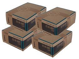 4 PACK - Tubes, 700 x 18-23  48mm PRESTA Smooth Valve