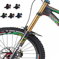 5 Color Plastic Colorful Bicycle Fenders Universal Front Rea