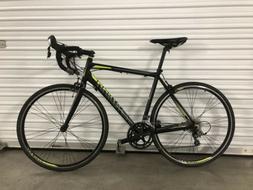 700C 1600 Men's Road Bike Phocus Matte Black Schwinn Bicycle