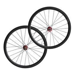 700C 6 Bolt Disc Brake hub 38mm Clincher Carbon Road Bicycle