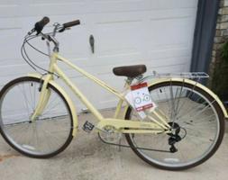 🔥Schwinn 700c Admiral Women's Hybrid Bike, Cream