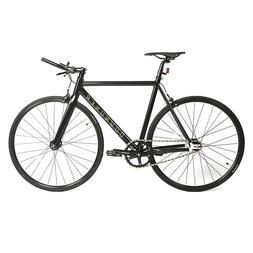 700C Aluminum Fixed Gear Bike Single-Speed Bullhorn Handleba