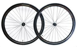 700c Aluminum Road Bike Wheelset Freewheel Compatible Front