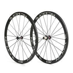 VCYCLE 700C Carbon Racing Road Bicycle Wheelset 38mm Tubular