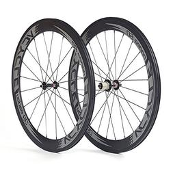 VCYCLE Nopea 700C Road Bike Carbon Wheel Set Clincher 60mm O