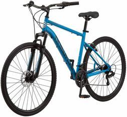 Schwinn 700c Copeland Men's Hybrid Bike Blue