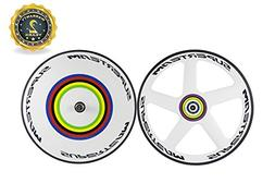 Superteam 700C Front 56mm Five Spokes Wheels Rear Disc Wheel