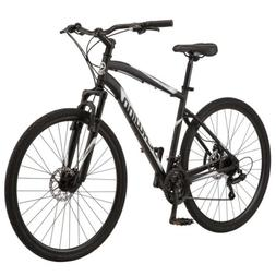 🔥Schwinn 700c Glenwood Men's Hybrid Bike, Black