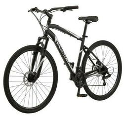 Schwinn 700c Glenwood Men's Hybrid Bike, Black In hand