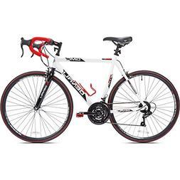 "25"" 700c GMC Denali Men's Bike, White/Red"
