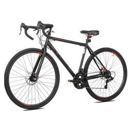 Kent 700c Nazz Men's Gravel Road Bike, Black