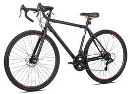 Kent 700c Nazz Men's Gravel Road Bike, Black FREE FAST SHIPP
