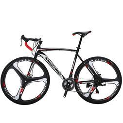 700C Road Bike 21 Speed Complete Bicycle 54cm Disc Brakes Me