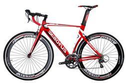 Upgraded Aluminium Road Bike Shimano 16 Speed 54cm Mens Bike