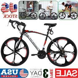 700C Road Bike Shimano 21 Speed Cycling Bicycle Disc Brakes