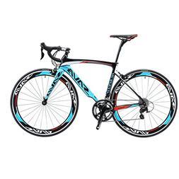 SAVADECK 700C Road Bike T800 Carbon Fiber 50CM Frame/Fork/Se