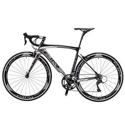SAVADECK Carbon Road Bike, Warwinds4.0 700C Carbon Fiber Roa