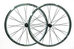 AEROMAX 700c Road Comp Silver Road Bike Wheelset Clincher Sh