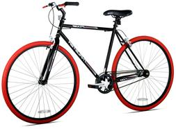 700c thruster fixie men s bike black
