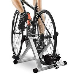 HEALTH LINE PRODUCT Bike Trainer Stand, Indoor Magnetic Bicy
