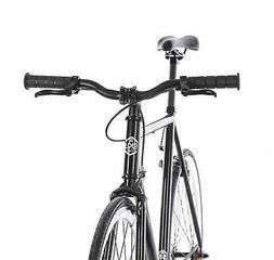 6KU 89201 Fixed Gear Single Speed Urban Fixie Road Bike, Bla