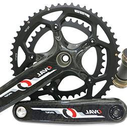 Oval Concepts 900 Crankset FSA Carbon Road Bike 53/39 130BCD