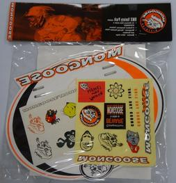 Mongoose BMX Variety Pack Includes 2 Maurice Valve Caps!