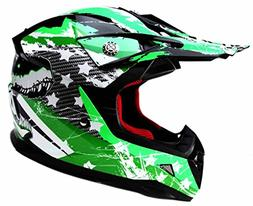 Motocross Youth Kids Helmet DOT Approved - YEMA YM-211 Motor