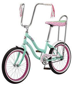 """Schwinn S2367B Mist Girls Polo Bike, 20"""" Wheels, Mint, 20"""" w"""