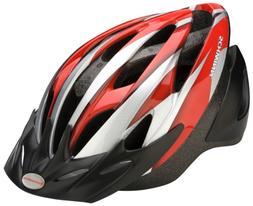 Schwinn Thrasher Youth Microshell Bicycle Helmet, Red