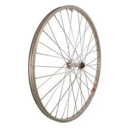 Sta Tru Silver Alloy ATB Hub Quick Release Front Wheel