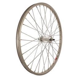 Sta-Tru Silver ST1 36H Rim Front Wheel