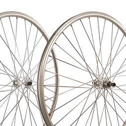 Sta-Tru Silver ST725 36H Rim Rear Wheel