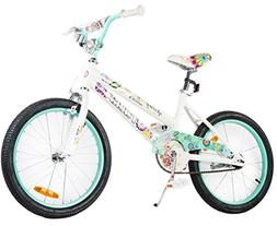 Tauki 20 Inch Girls Bike, Kids Bike for Girl with Ages 8-14