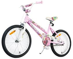 Tauki 20 Inch Girl Bike Kid Bike for Girls, Pink, 95% assemb