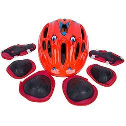 SUNVP Kids Adjustable Bike Helmet Boy's and Girl's Toddler P