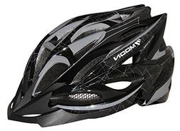 Moon Adjustable Unisex Adult Cycling Bike Helmet with Visor,