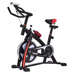 Goplus Adjustable Exercise Bike Stationary bike Indoor Cycle
