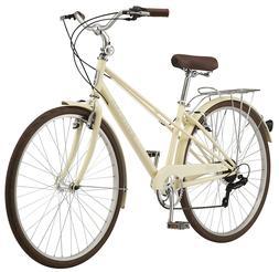 Schwinn Admiral Hybrid Bike, 7-speeds, 700c wheels, White/Cr