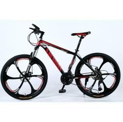 Adult Mountain Bike 21-30 Speed 26 inch Off-road Bike Shock-