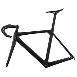 ICAN Aero 700c Carbon Road Bike Frameset with Handlebar Stem