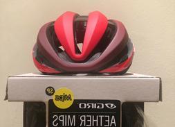 Giro Aether MIPS road Bike Helmet Matte Bright Red / Dark Re