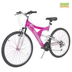 "Dynacraft Women's 26"" 21 Speed Air Blast Bike, 17.5""/One Siz"