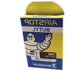 Michelin Airstop Butyl Tube - Road Black, 700c/18-25/52mm