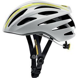 Mavic Aksium Elite Cycling Helmet - Women's White/Colza Yell