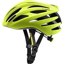 Mavic Aksium Elite Helmet Safety Yellow/Black, L