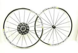 Mavic Aksium Elite Rim Brake Road Bike 700C Wheelset 10/11 S