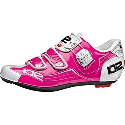 Sidi Alba Carbon Cycling Shoe - Women's Fuchsia/White, 40.0