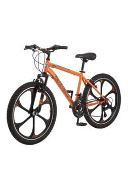 Mongoose Alert Mag Wheel mountain bike, 24-inch wheels, Oran